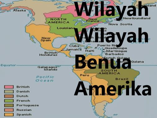 Wilayah Wilayah Benua Amerika